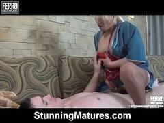 Ottilia&Vitas horny mom in action