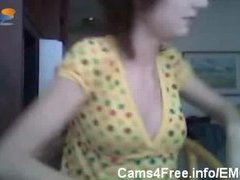 Cam: EMO Mom Catches Sexy Teen Girl Sucking Cock