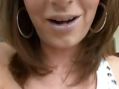 Gal can't live without to get her loving holes stuffed by large penis